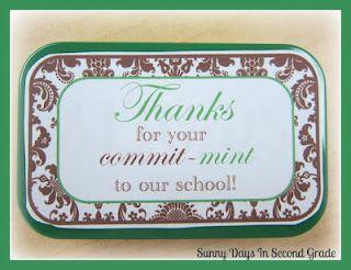 Easy for Secretary's Day or volunteer appreciation! (Altoid's tin)