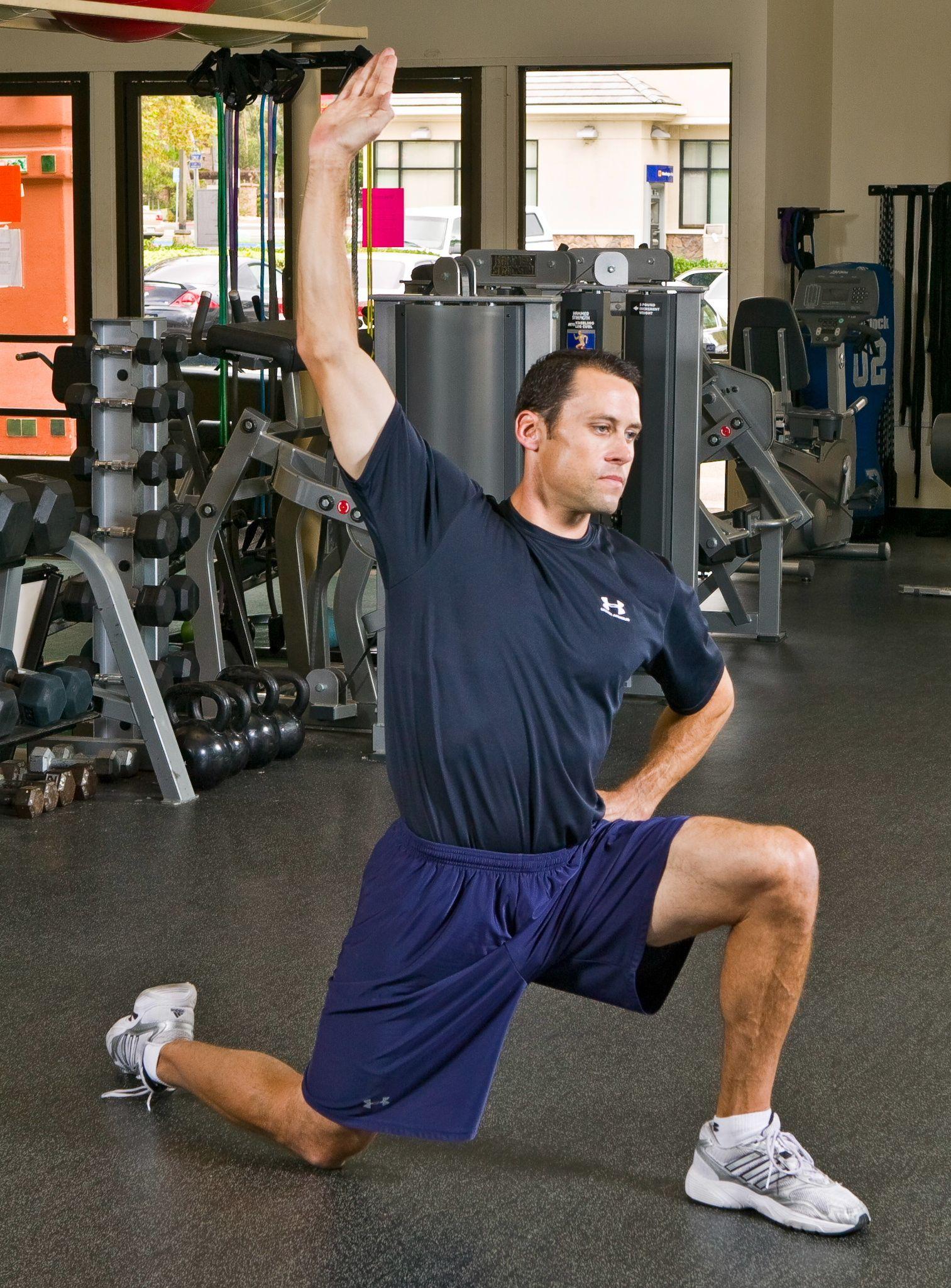 Kneeling Hip Flexor Stretch Exercise -