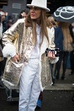Street Style: Milan AW13-14 look 17