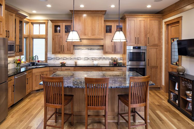 Michels Homes Kitchen Featuring Dura Supreme Cabinetry Double Custom New Home Kitchen Designs