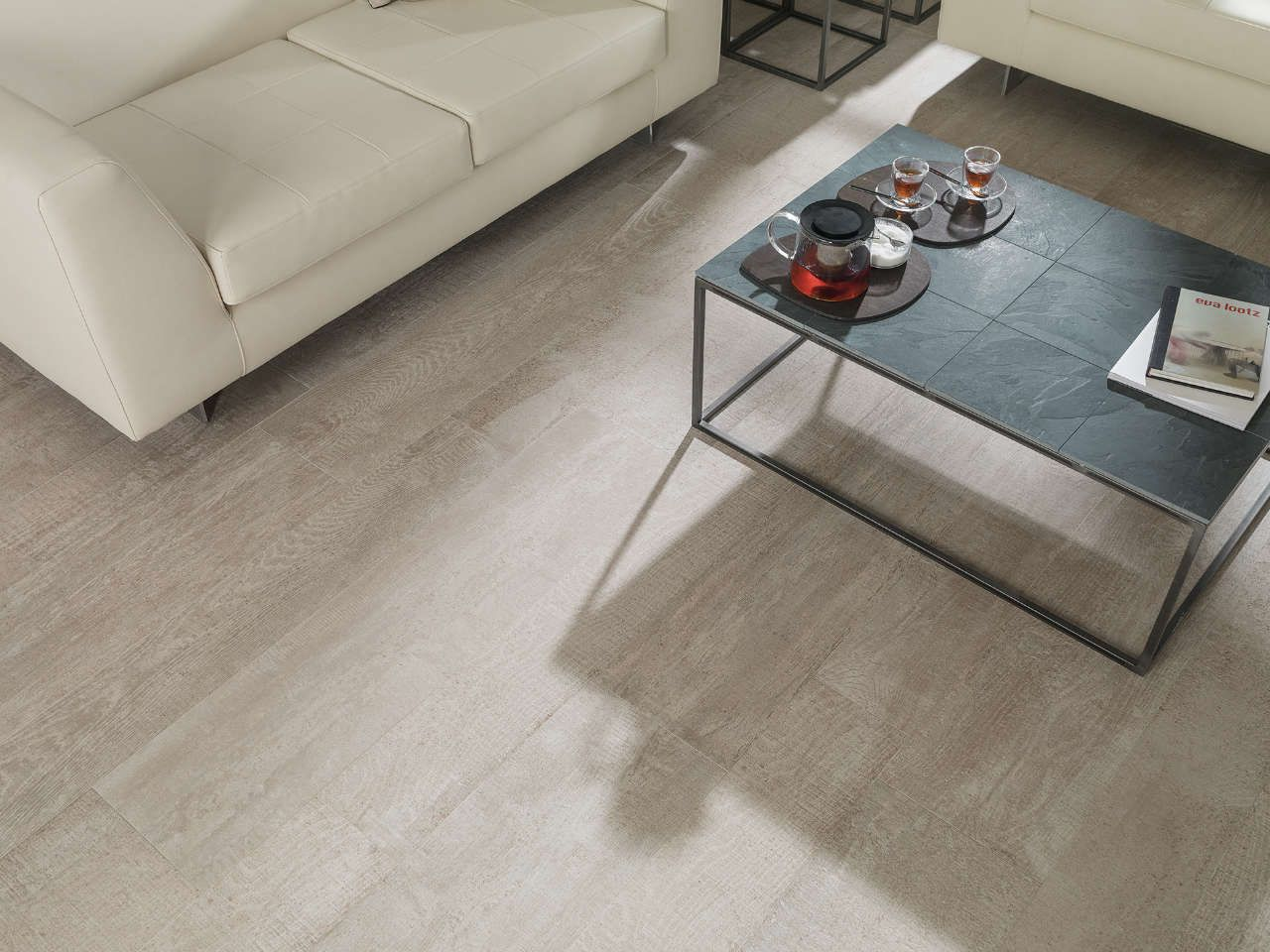 Collection carrelage par ker porcelanosa austin gris 29 for Remplacer parquet par carrelage