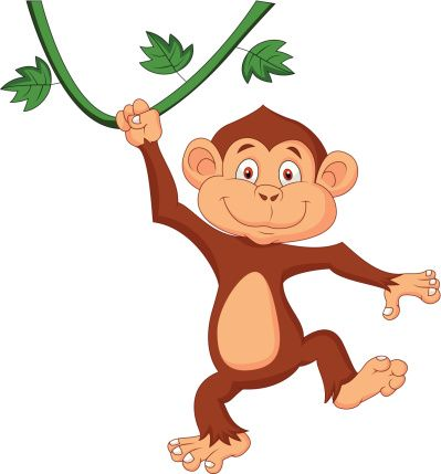 cute monkey illustrations google search monkey pinterest rh pinterest co uk hanging monkey clipart black and white hanging monkey clipart