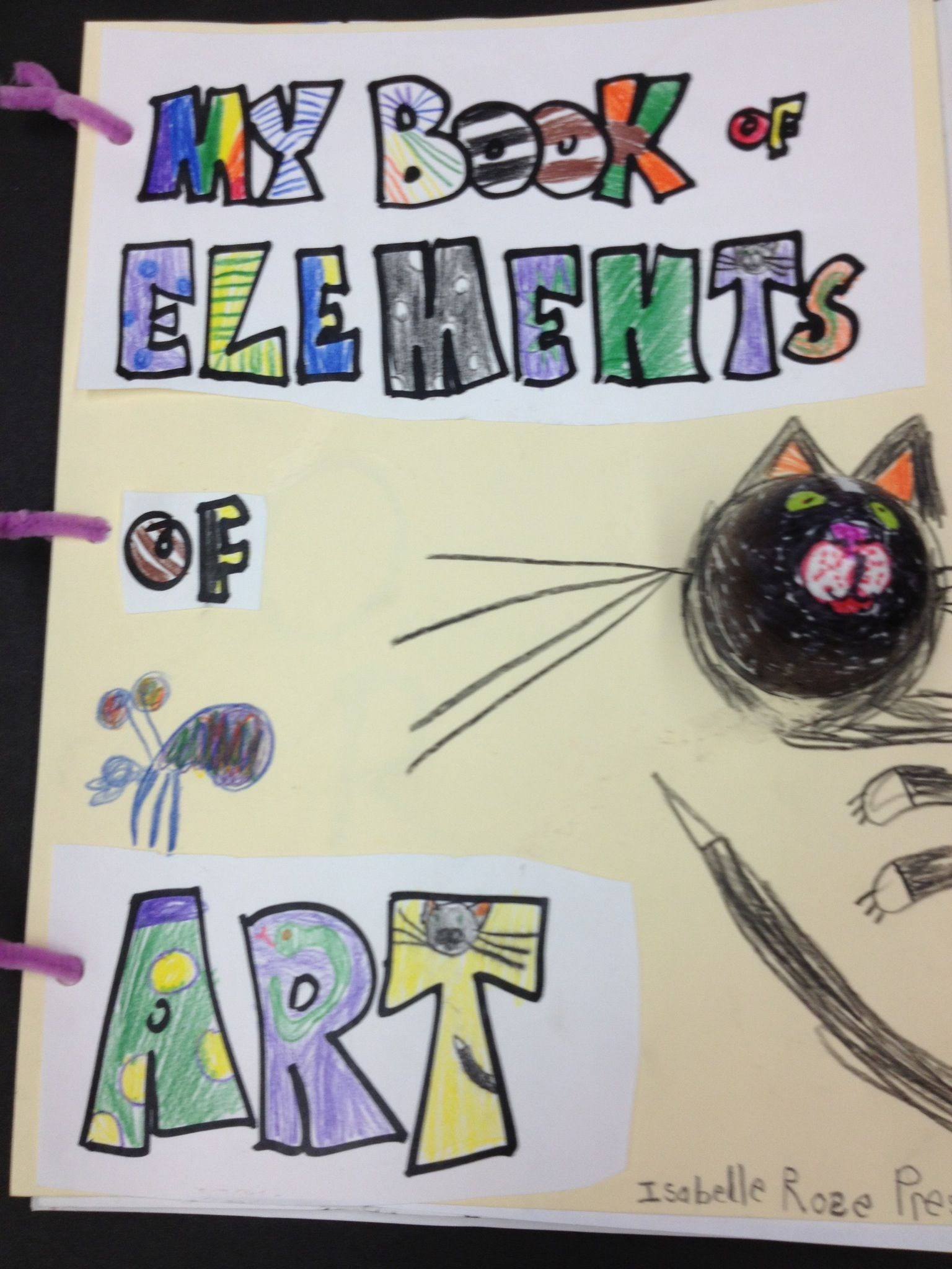 Elements Of Art Book Project