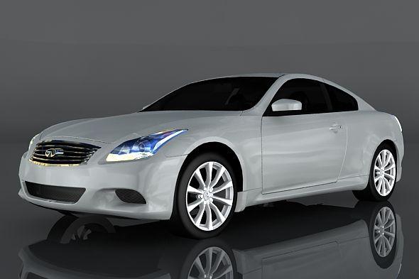 Infiniti G37 Fully Editable And Reusable 3d Model Of A Car 3d 3dmodel 3ddesign 00s 2005s 2007s 2008s 2009s In 2020 Infiniti G37 Infiniti Low Poly 3d Models
