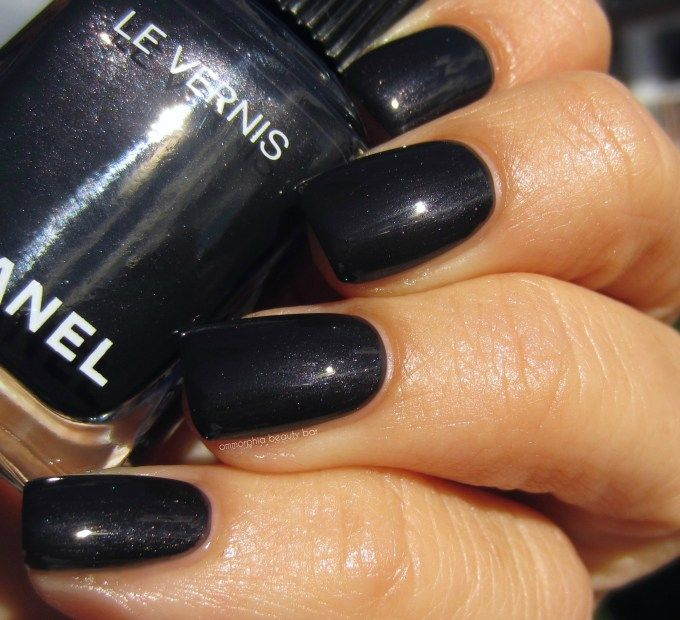 Chanel 538 Gris Obscur Fall 2016 Rouge Allure Ink Collection Chanel Nail Polish Chanel Nails Nails