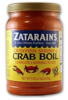 Zatarains Crab Boil Seasoning Sack Size New Orleans Cajun