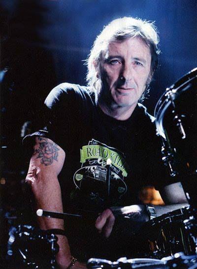 Phil Rudd Ac Dc Drummer Acdc Ac Dc Rock