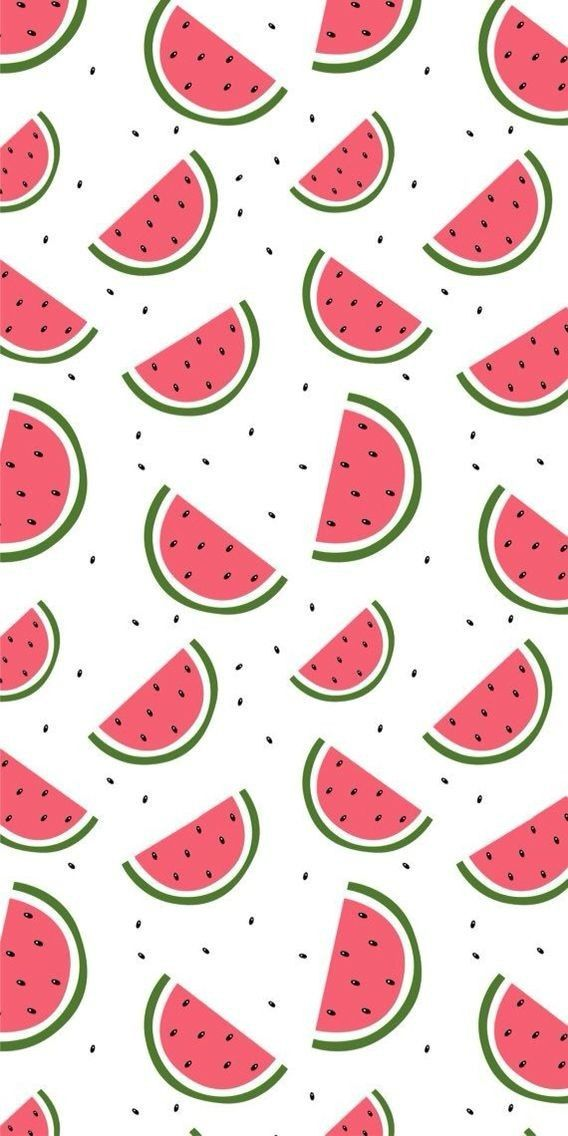 Wallpaper Whatsapp Background Iphone Mobile Watermelon Pattern Watermelon Wallpaper Fabric Wallpaper Summer Wallpaper