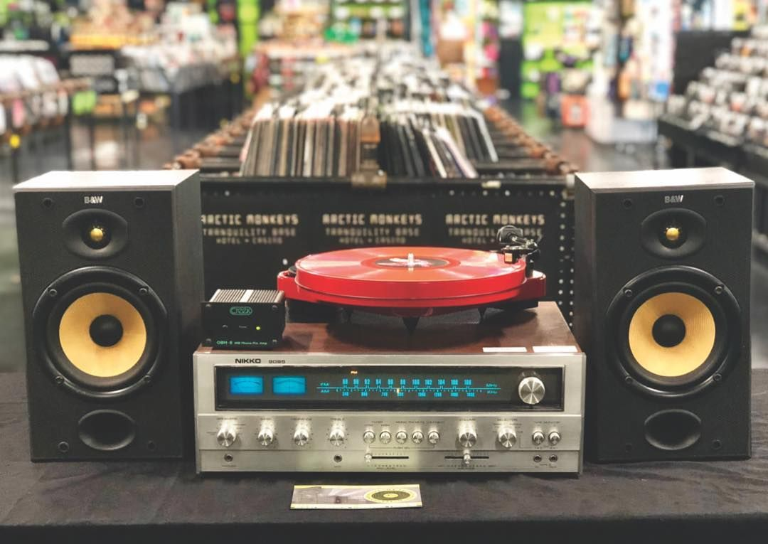 Vintage cool  Shop our #hifi room for an always fresh