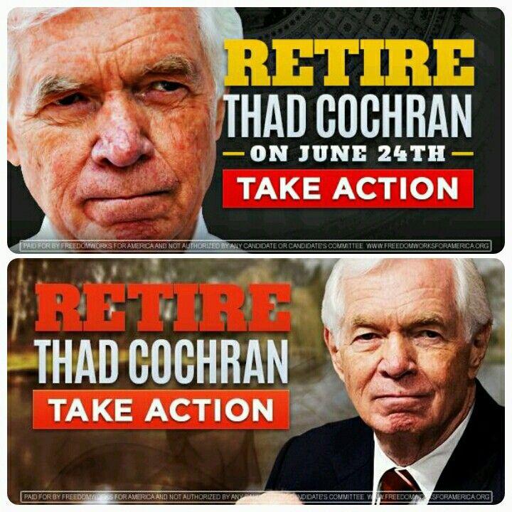 Retire Thad Cochran Thad cochran, June 24, Retirement
