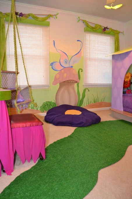 Fairy/garden Themed Room (my Daughter's Room)