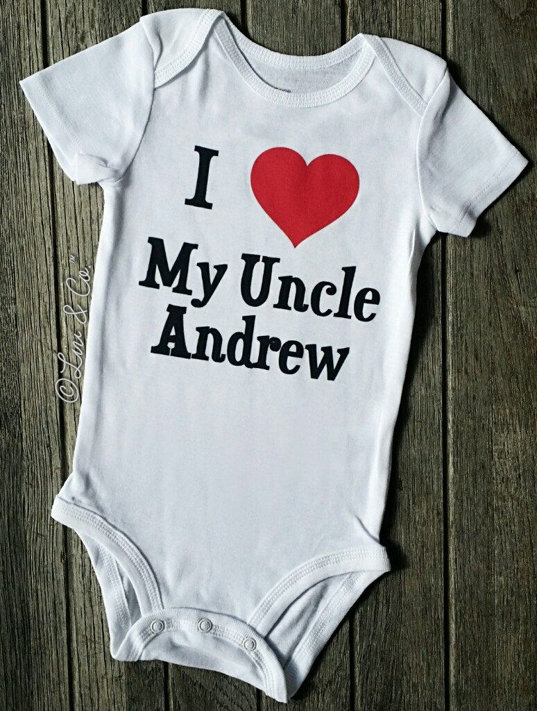 I love my uncle andrew personalized baby boy and girl shirt clothes i love my uncle andrew personalized baby boy and girl shirt clothes can do any name uncle gift gift from uncle niece nephew liv co negle Gallery