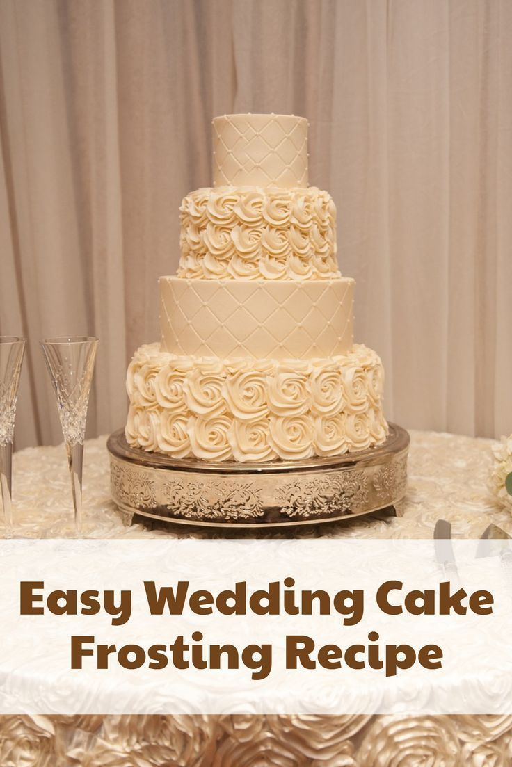 Easy White Wedding Cake Frosting Recipe | POST YOUR BLOG! Bloggers ...