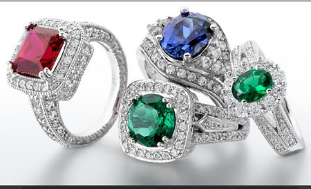 A Rainbow Of Diffe Colored Stones Covered In Hand Picked Diamonds And Custom Made Just For You From Levi Family Jewelers