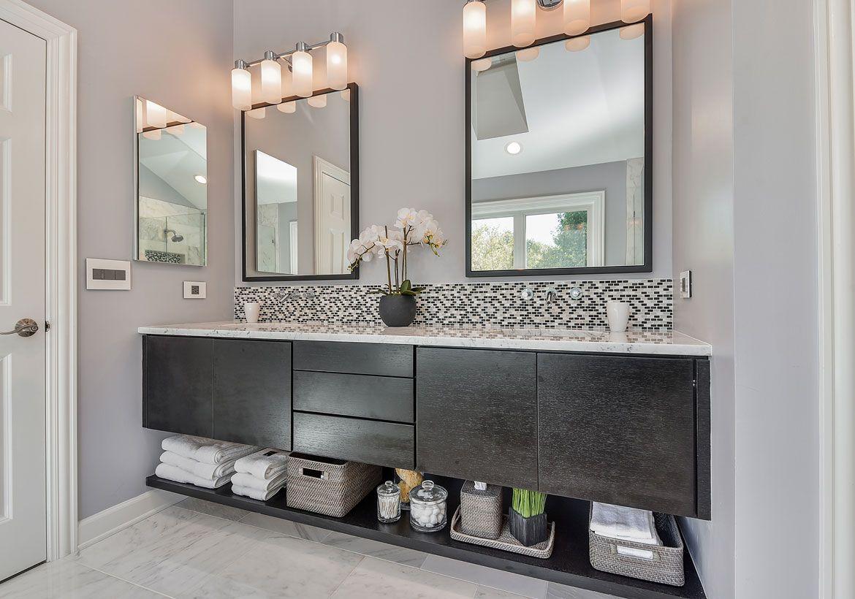 From A Floating Vanity To A Vessel Sink Vanity Your Ideas Guide Vanity Backsplash Bathroom Remodel Pictures Bathrooms Remodel [ 820 x 1170 Pixel ]