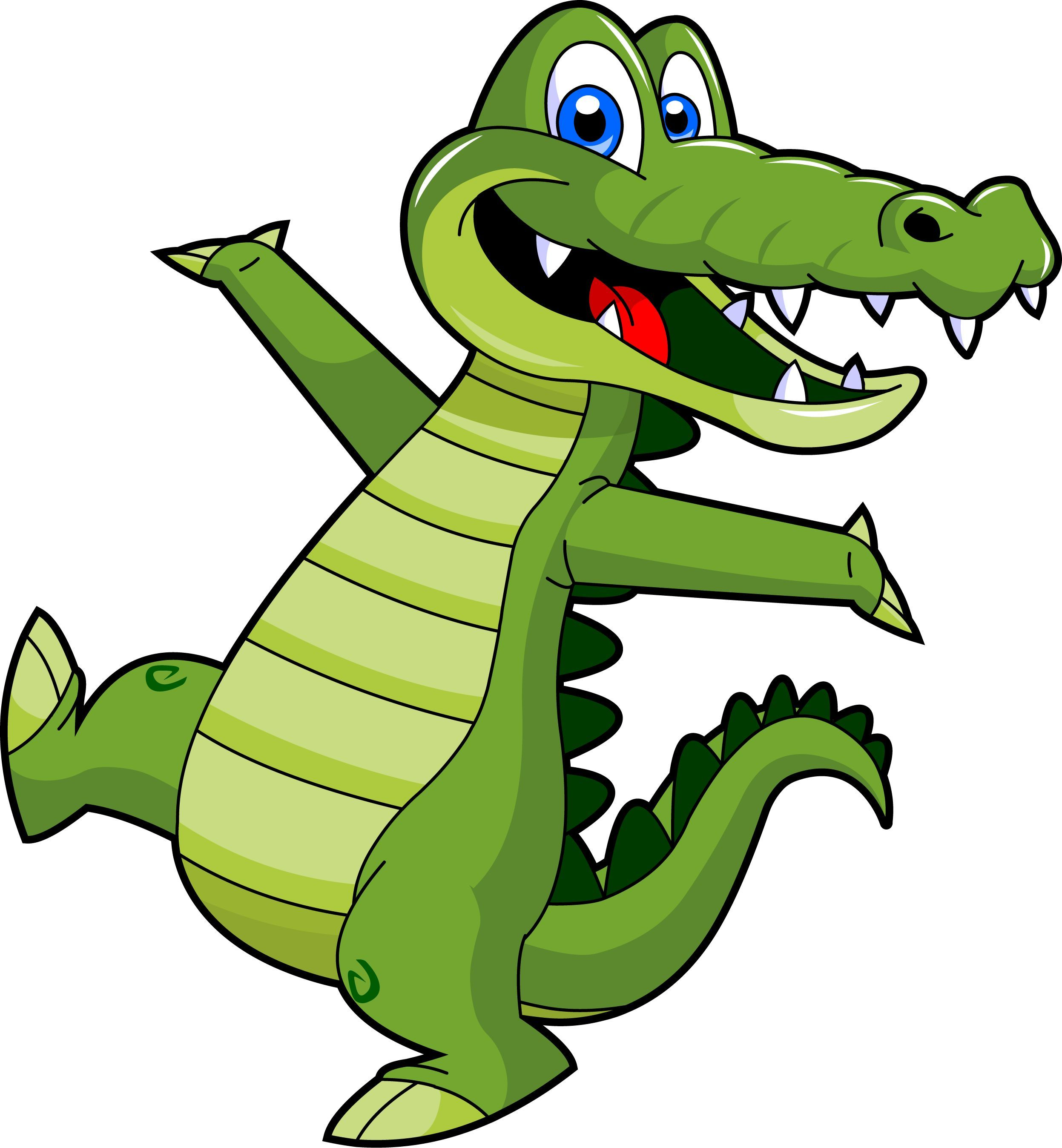 Cute baby alligator clipart free clipart images 2 ...