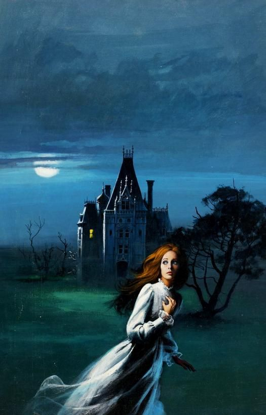 Dave Karlen Art original Blog Gothic Romance Covers-2835