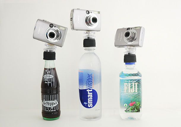 Instant tripod with a bottle cap $7.99