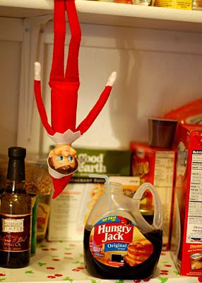 Naughty Chippy #Elf on the shelf
