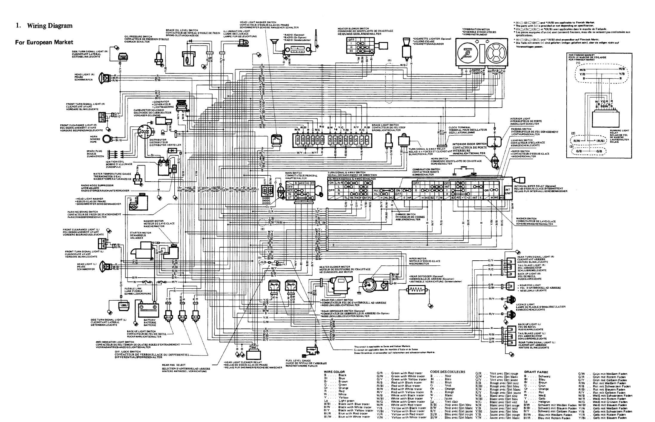 Wiring Diagram For Off Road Lights Jeep 1998 Grand Cherokee Radio Suzuki Club Uk  View Topic Diagrams Sj