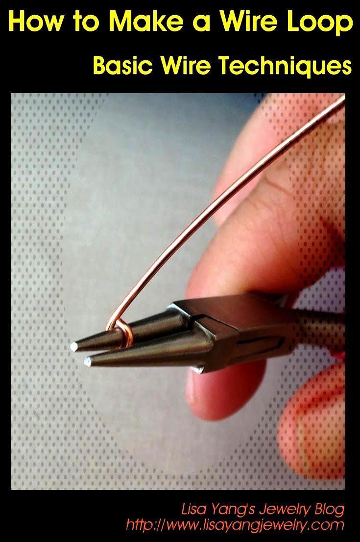 Make a wire loop infinity ring: Step by Step Tutorial at Lisa Yangs Jewelry Blog
