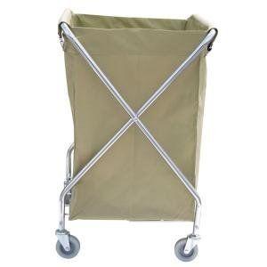 Lavex 10 Bushel Metal X Frame Folding Laundry Cart By Lavex