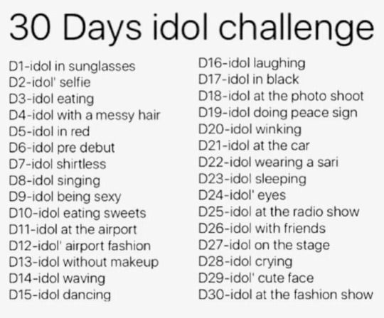 The Library Mouse Challenges Idol 30 Day
