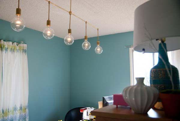 Cómo hacer lámparas de techo paso a paso lamparas Pinterest