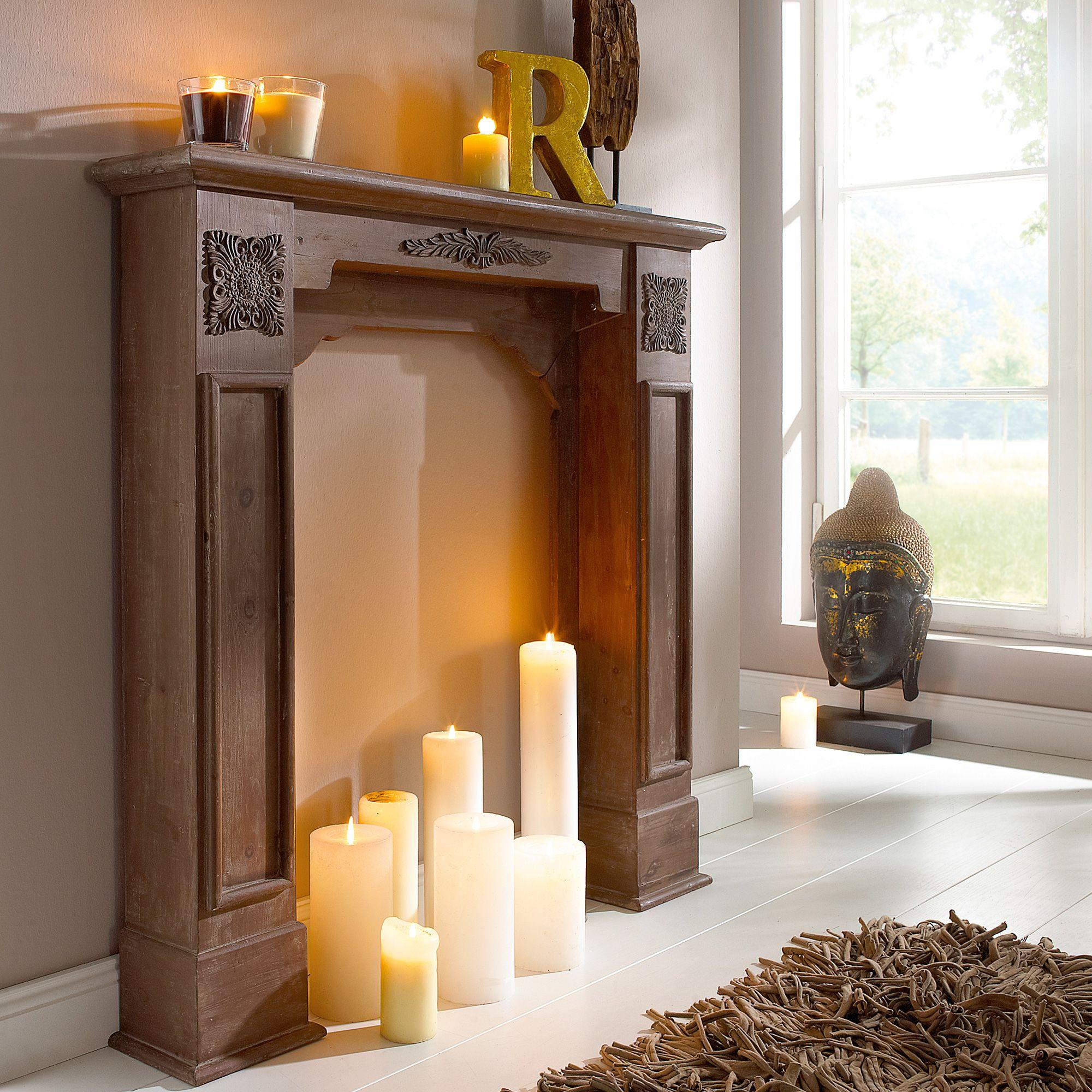 kamin fireplace kamin kerzen zuhause och wohnzimmer. Black Bedroom Furniture Sets. Home Design Ideas