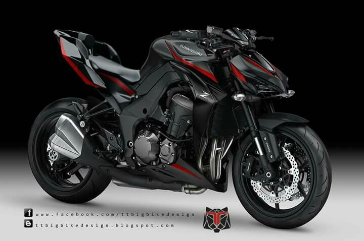 Z1000 Design Concept By TTBIGBIKEDESIGN