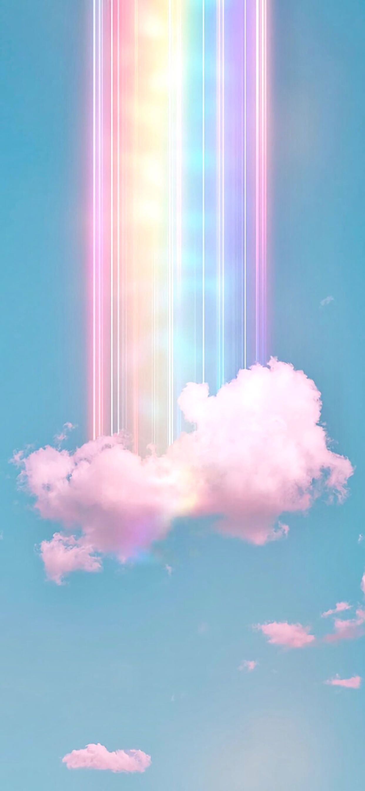 Rainbow cloud, 2020 | Galaxy wallpaper, Iphone ...