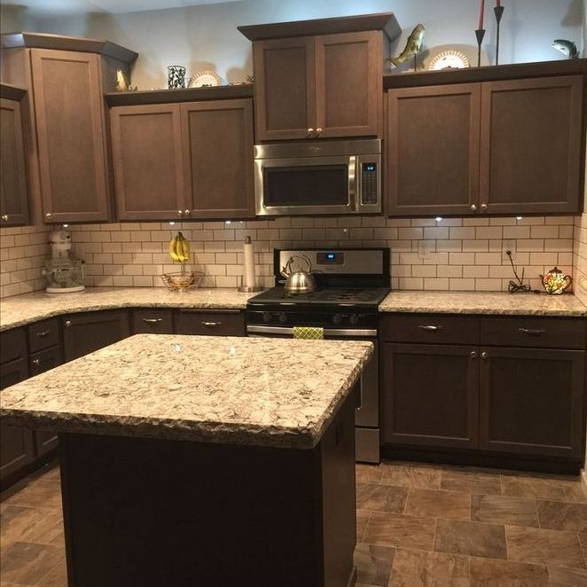 20 Key Pieces Of Kitchen Tile Backsplash Ideas Back Splashes Cabinet Colors 46 Apikhome Com In 2020 Espresso Kitchen Cabinets Kitchen Tiles Backsplash Brown Kitchen Cabinets