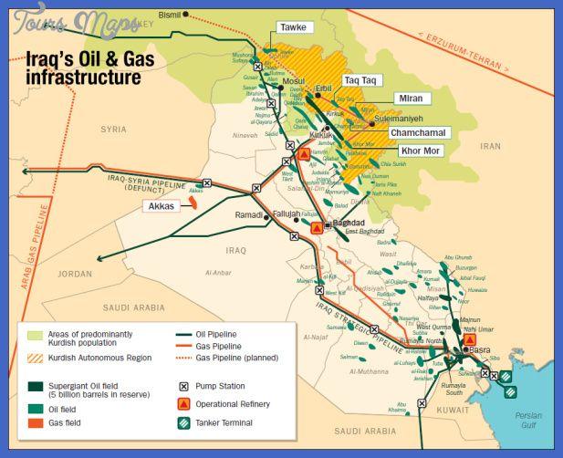 awesome Iraq Map Tours Maps Pinterest