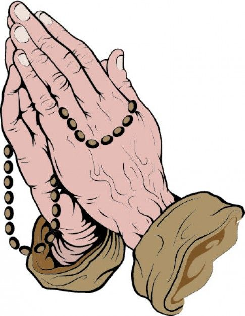 Download Praying Hands With Rosary For Free Praying Hands With Rosary Praying Hands Vector Art