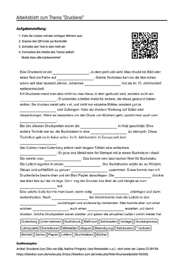 Charmant Peer Druck Arbeitsblatt Für Die Mittelschule Ideen - Super ...
