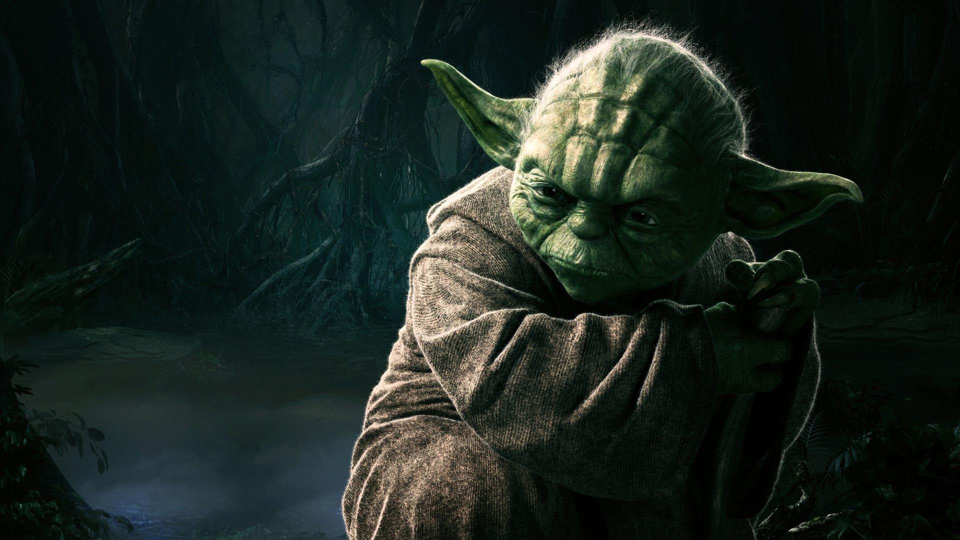 Star Wars Yoda Hd Wallpaper Papel De Parede Star Wars Star Wars Poster Star Wars Meme
