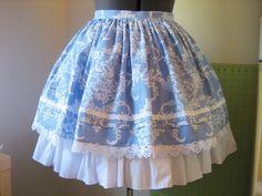 Half-Elastic Waistband Tutorial -   11 DIY Clothes Skirt english ideas