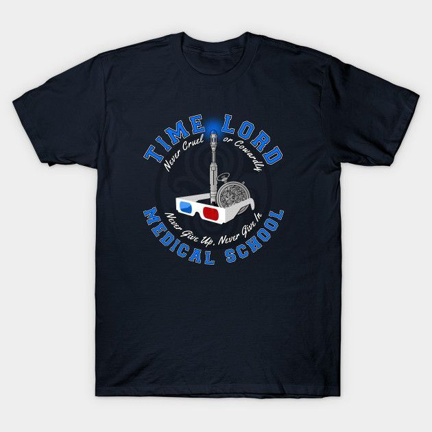 Time Lord Medical School 10 - Mens T-Shirt