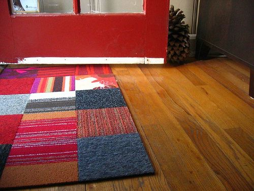 Flickr Finds Palisacat S Flor Door Mat Diy Carpet Rugs On