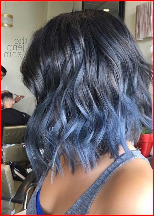 50 Blue Hair Highlights Ideas Blue Hair Highlights Short Ombre Hair Short Hair Haircuts