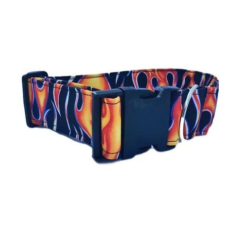 Hot Flames Dog  Cat Collar The Hottest Handcrafted Dog & Cat Collars / Cheap Online Price
