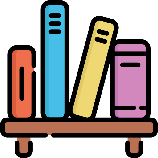Bookshelf Free Vector Icons Designed By Freepik Flat Design Icons Icon Design Vector Icon Design