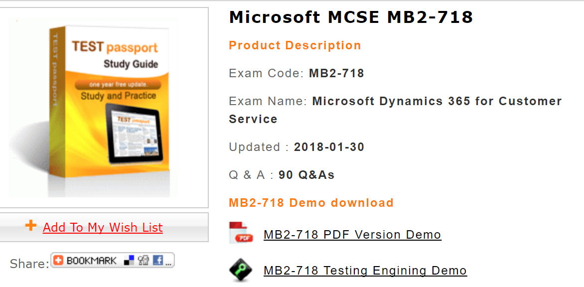 Mb2 718 Exam Is A Required Test For Mcse Business Applications