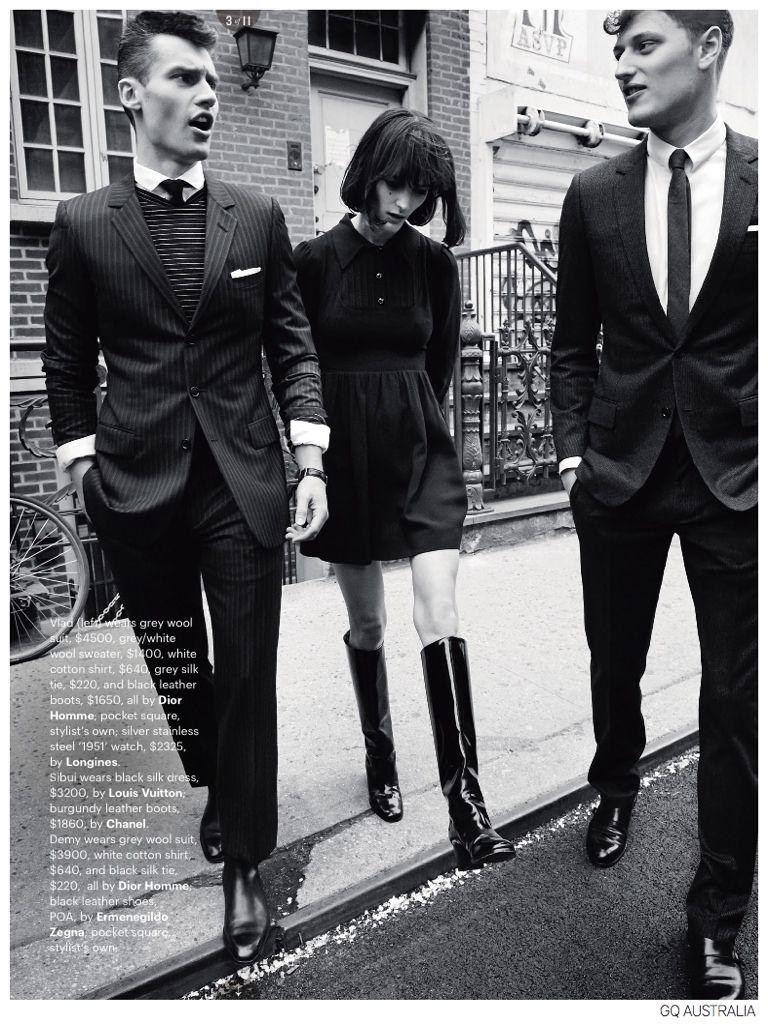 60s mod haircuts for men vladimir ivanov  demy matzen model s inspired fashions for gq