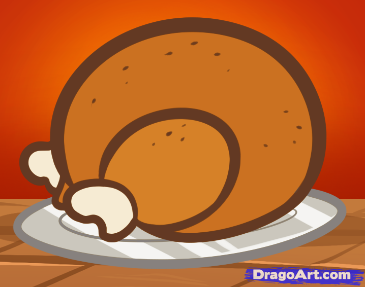 how to draw a thanksgiving turkey for kids - Turkey Pictures For Kids