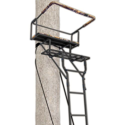 Two Man Ladderstand Ameristep 15 039 W Realtree Ap Seat Realtree Ap Accented 40 034 Tree Stand Hunting Tree Stand Ladder Tree Stands