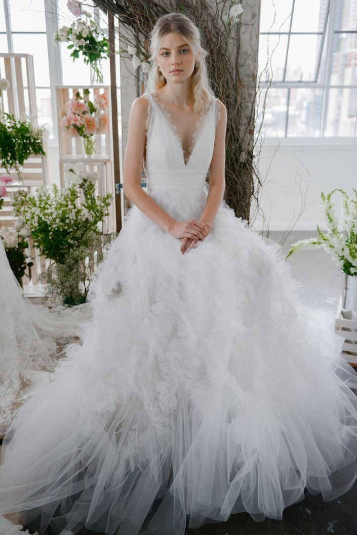 53 Dream Wedding Dresses From the Bridal Fall 2018 Collections ...