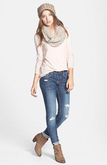 Rubbish® Tee & Vigoss Jeans | Nordstrom