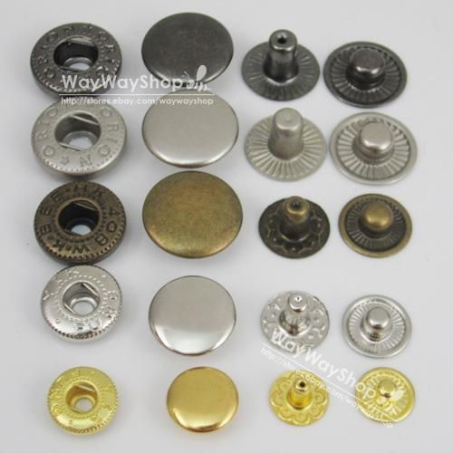 "1//4/"" 3//10/"" 3//8/"" 1//2/"" 5//8/"" 6 8 10 12 15mm Round Cap Stud Rivet Button Snap /& Tool"