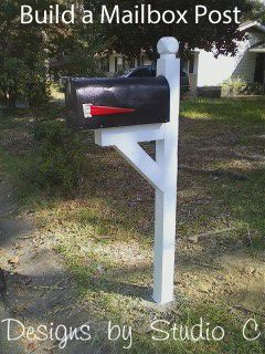 Step Up Your Curb Appeal with a New Mailbox Post! Generally, we give our homes and our yards a lot of attention. The house gets a new coat of paint, a transformation to the front door, or a fresh l...